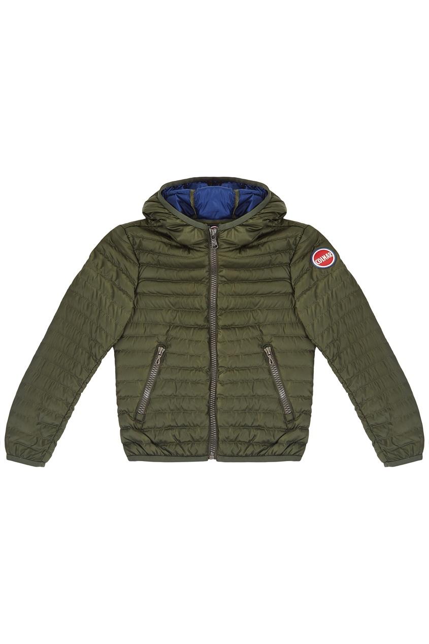 Зеленая стеганая куртка от Colmar Kids