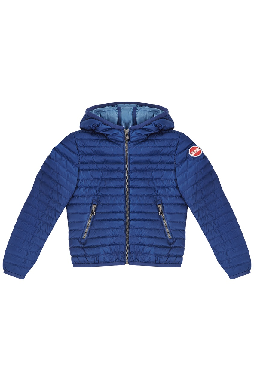 Синяя стеганая куртка от Colmar Kids