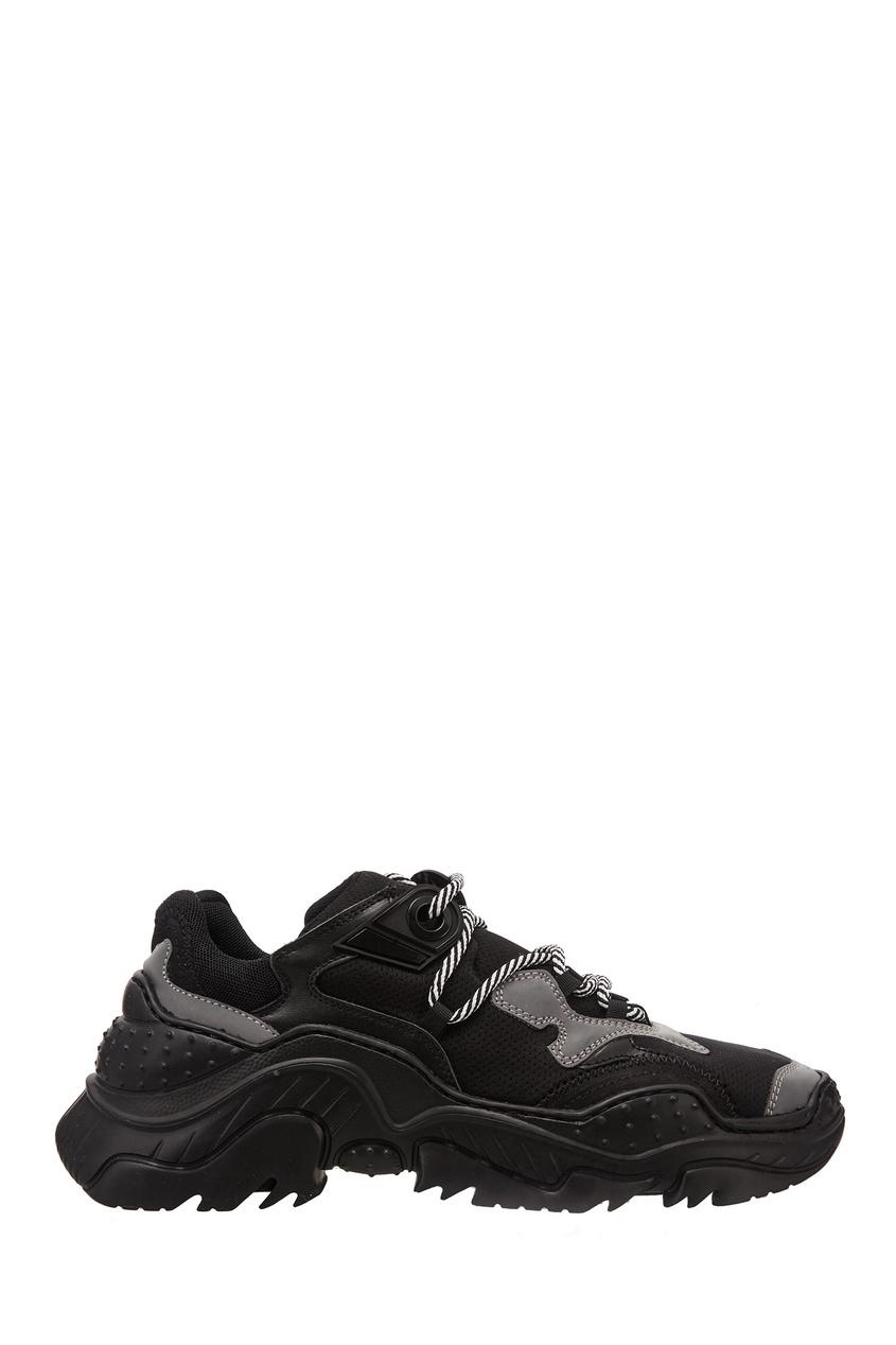 Черно-серые кроссовки Billy No.21