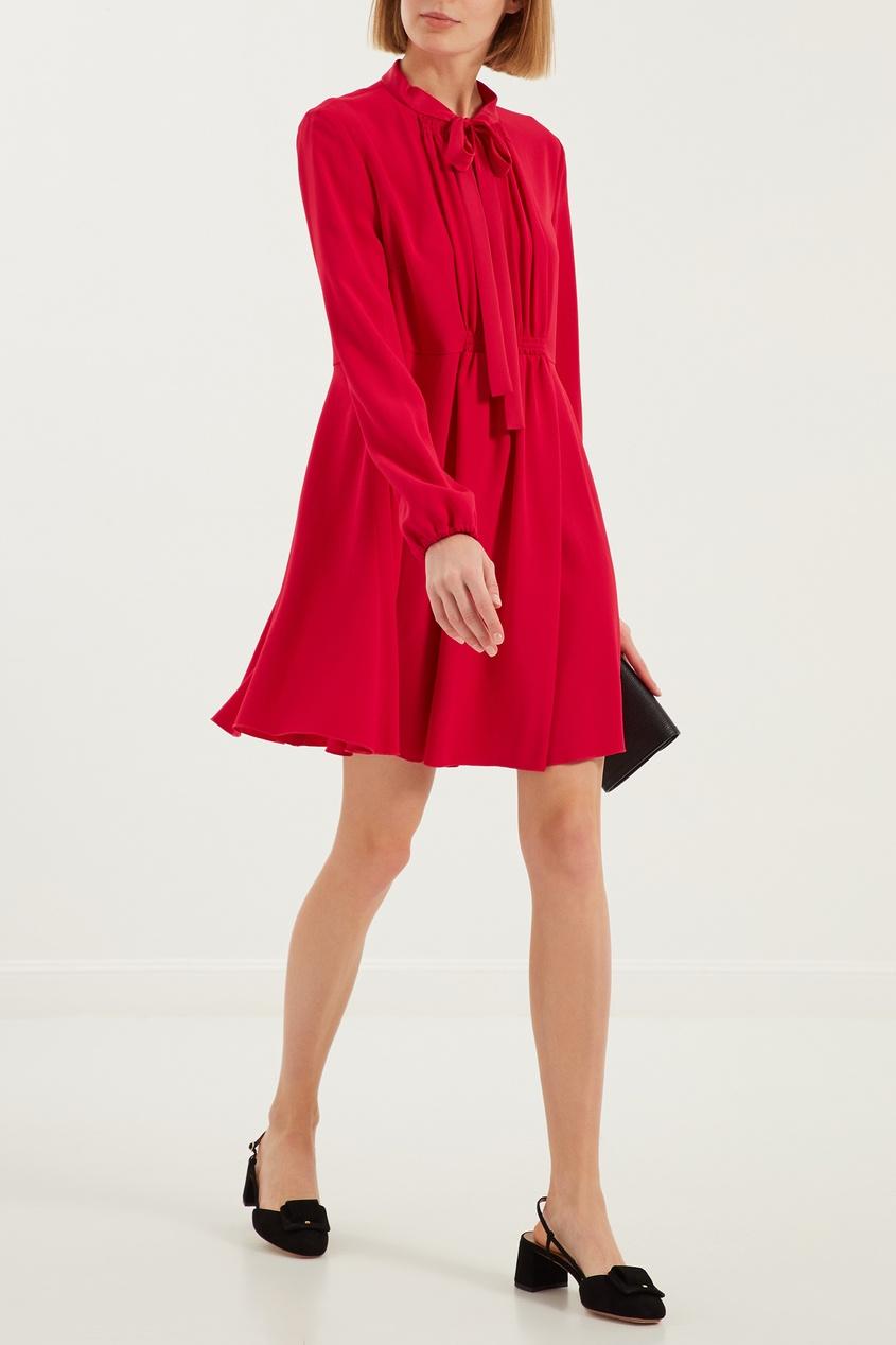 женское платье red valentino, розовое