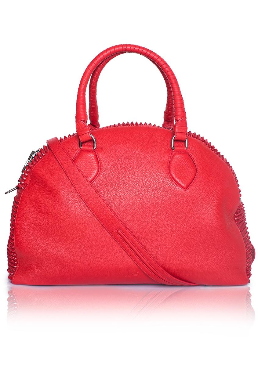 Кожаная сумка Panettone Large