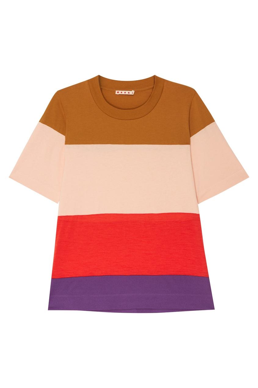 женская футболка marni