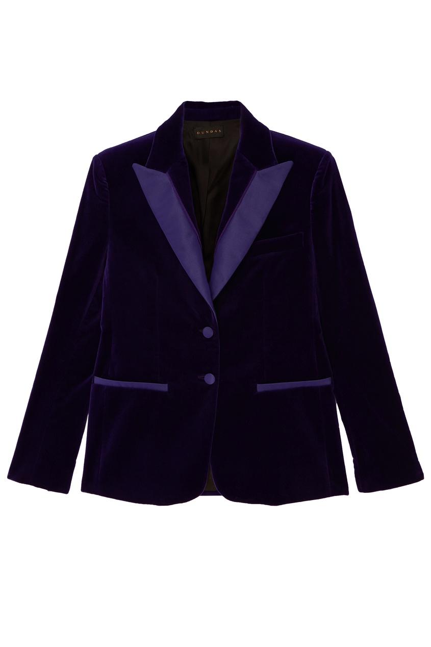 Купить со скидкой Фиолетовый жакет