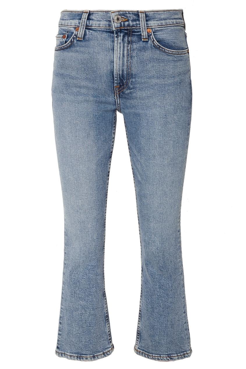 Укороченные расклешенные джинсы Re done