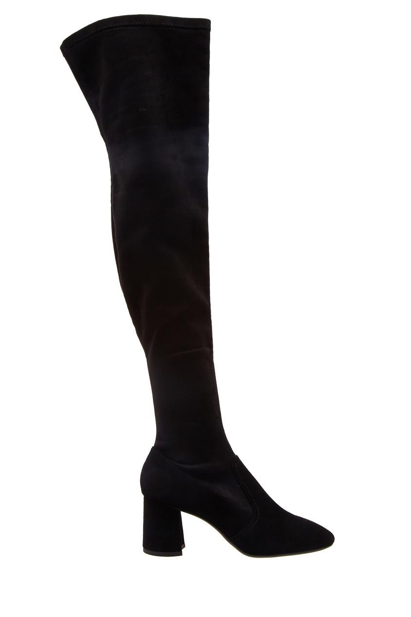 женские ботфорты lola cruz, черные