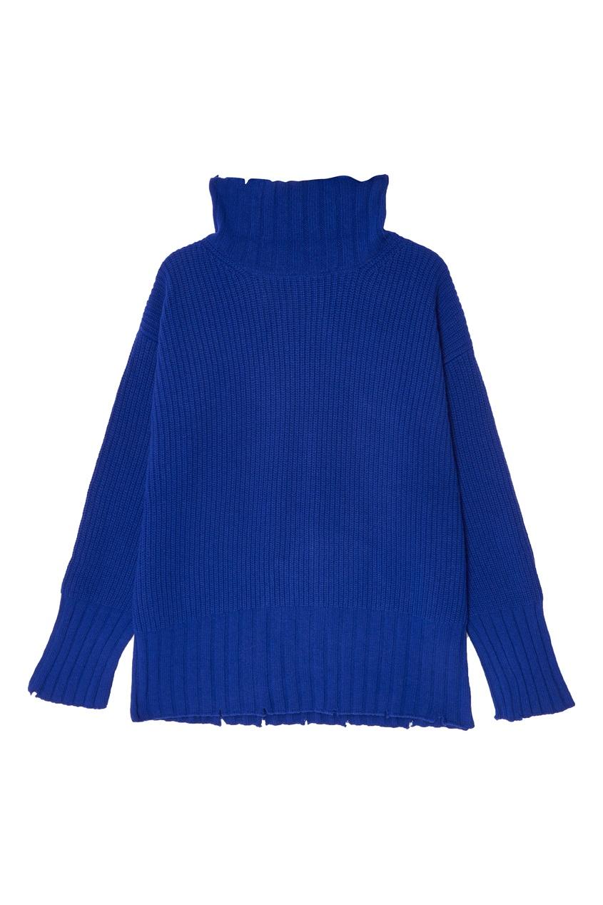 женский свитер msgm, синий