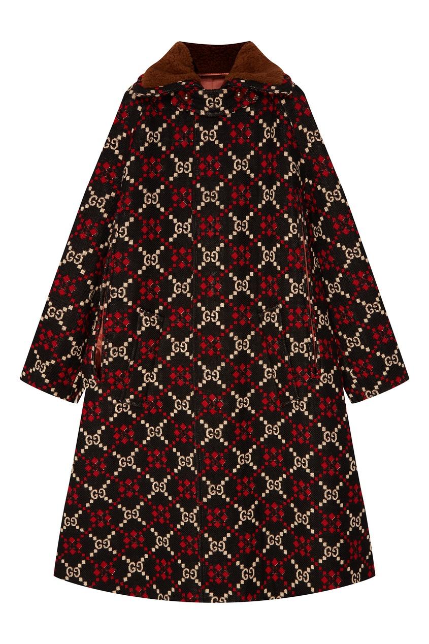 женское пальто gucci