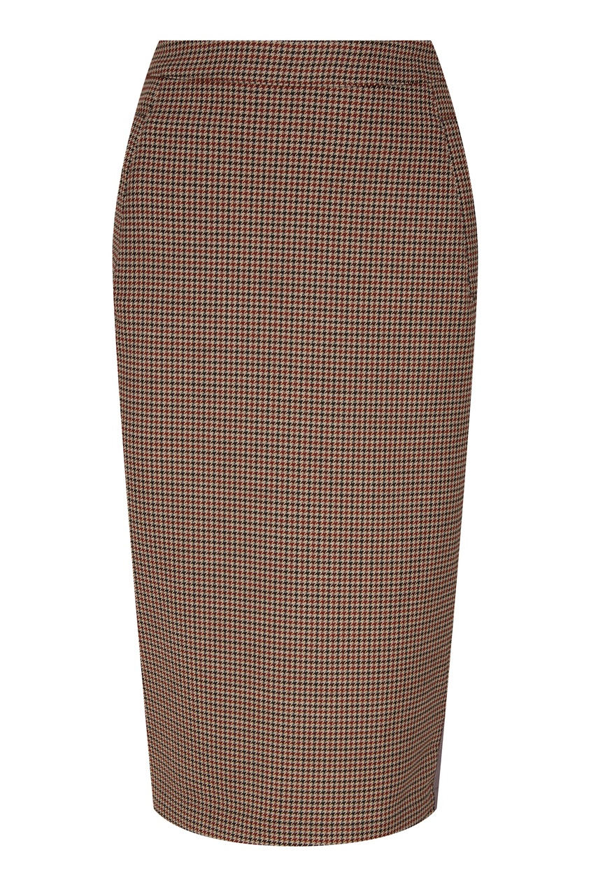 Клетчатая юбка-карандаш Essentiel Antwerp