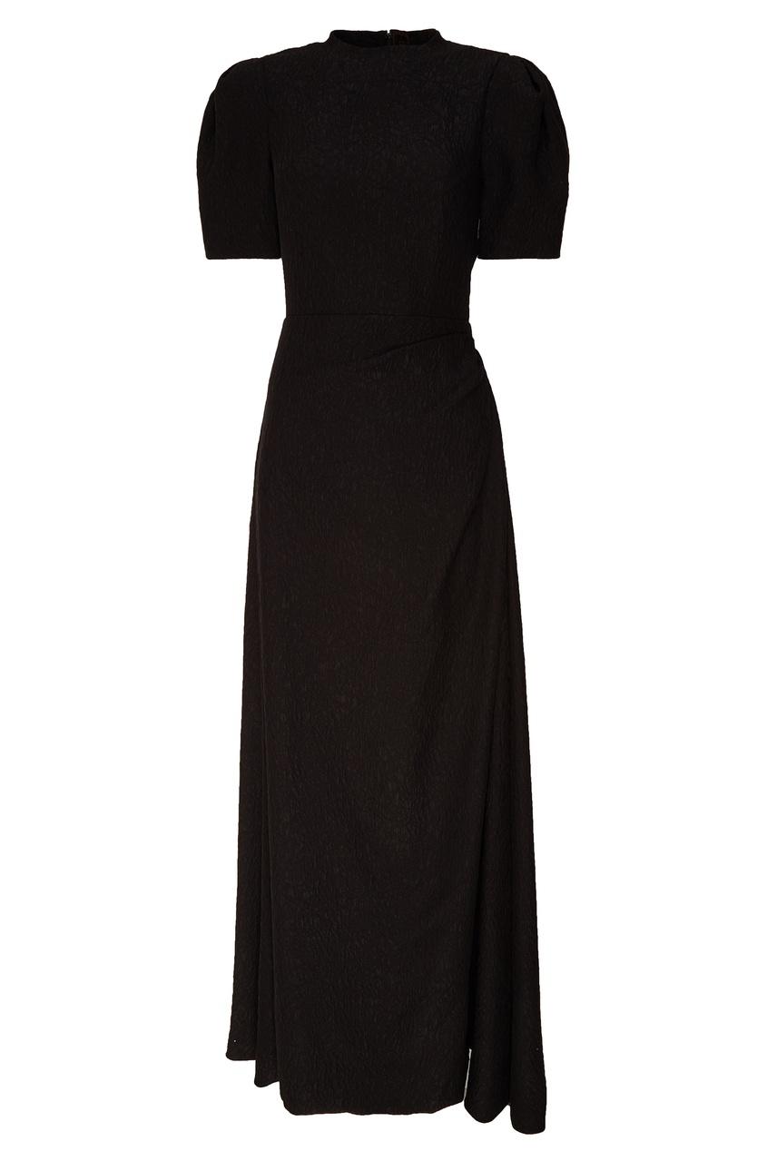 женское платье ulyana sergeenko, черное