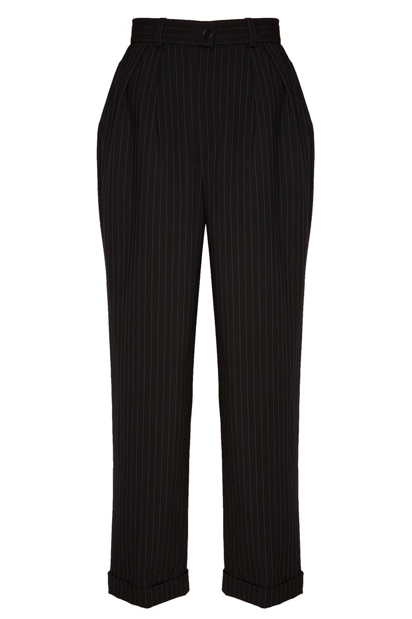 женские брюки ulyana sergeenko, черные