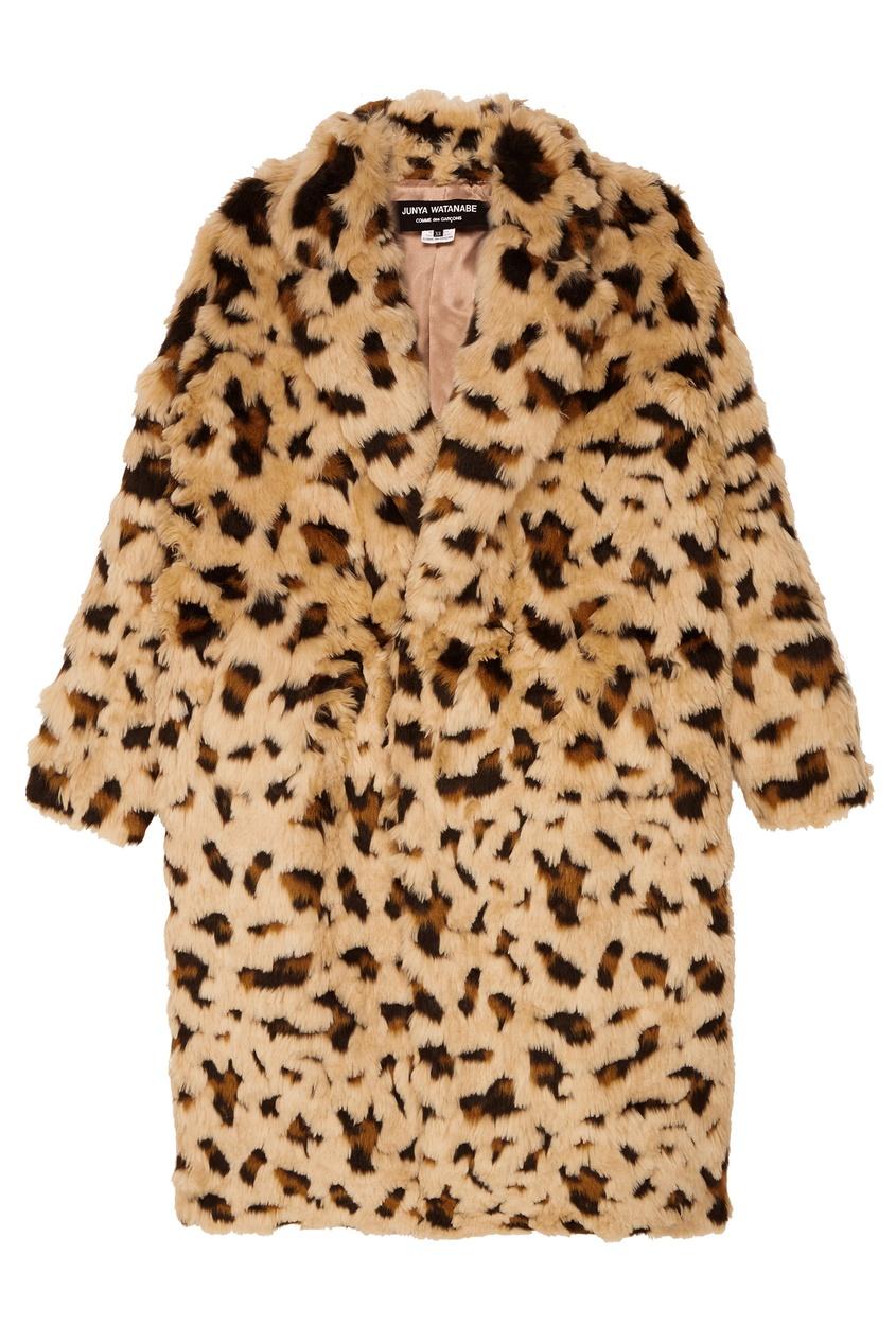 Купить со скидкой Пальто из искусственного меха