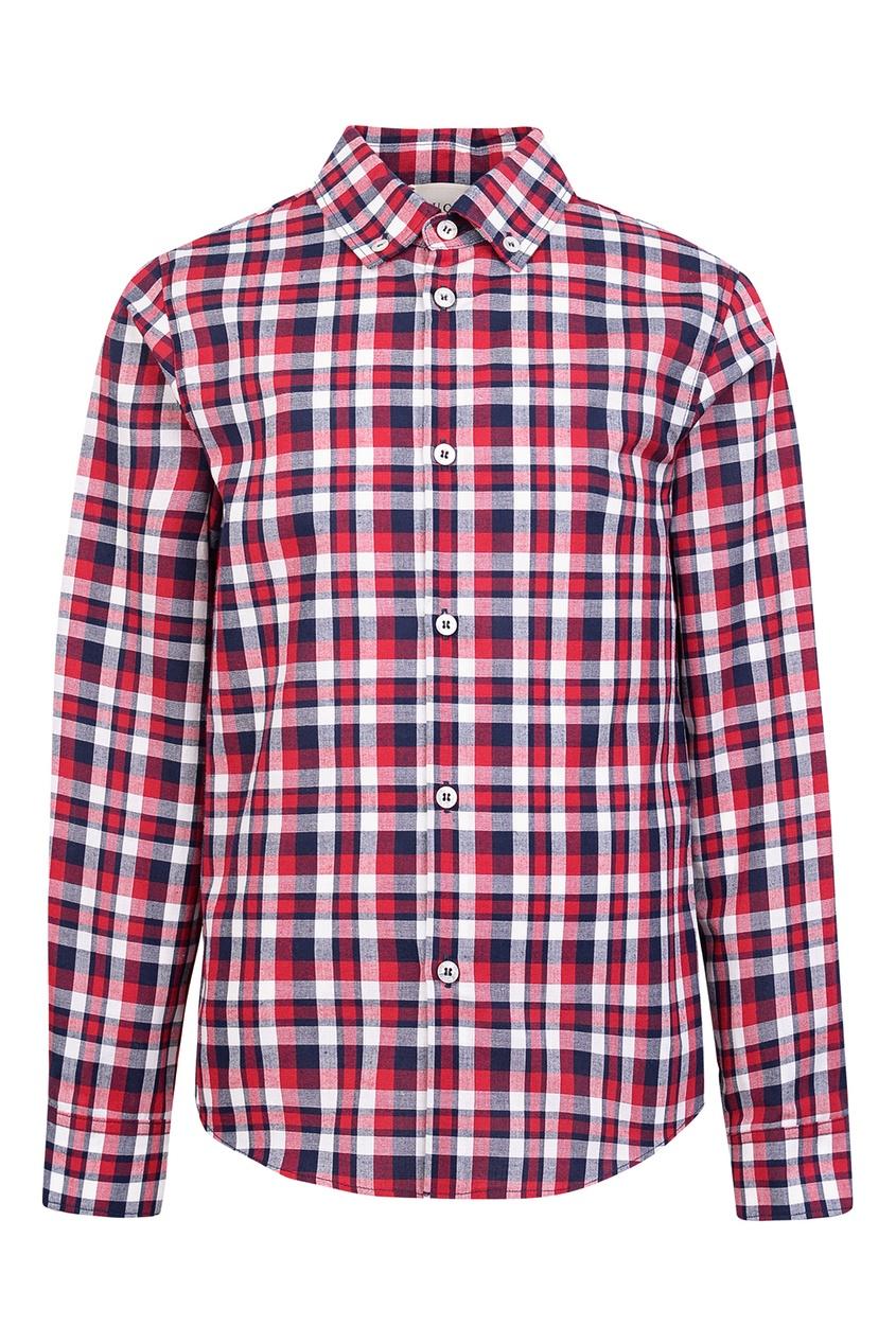 Купить Рубашку в клетку от Gucci Kids цвет multicolor