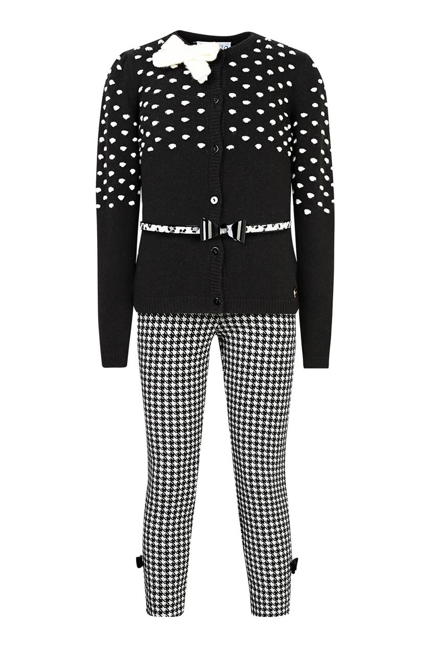 Комплект из джемпера, брюк и футболки SIMONETTA MINI