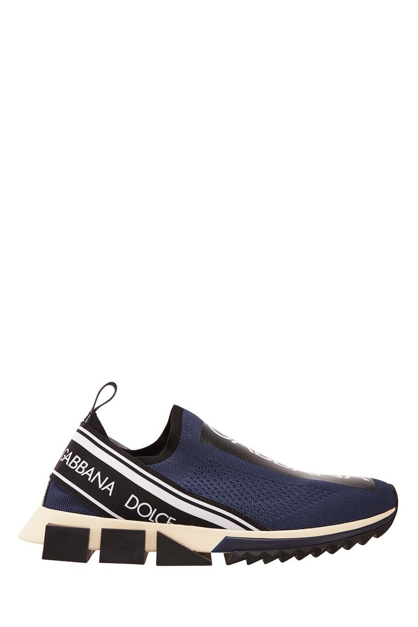 мужские кроссовки dolce & gabbana, синие