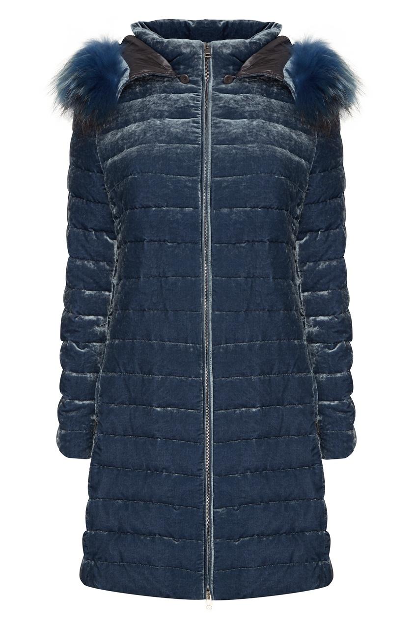 Синяя куртка Violetta V Amina Rubinacci