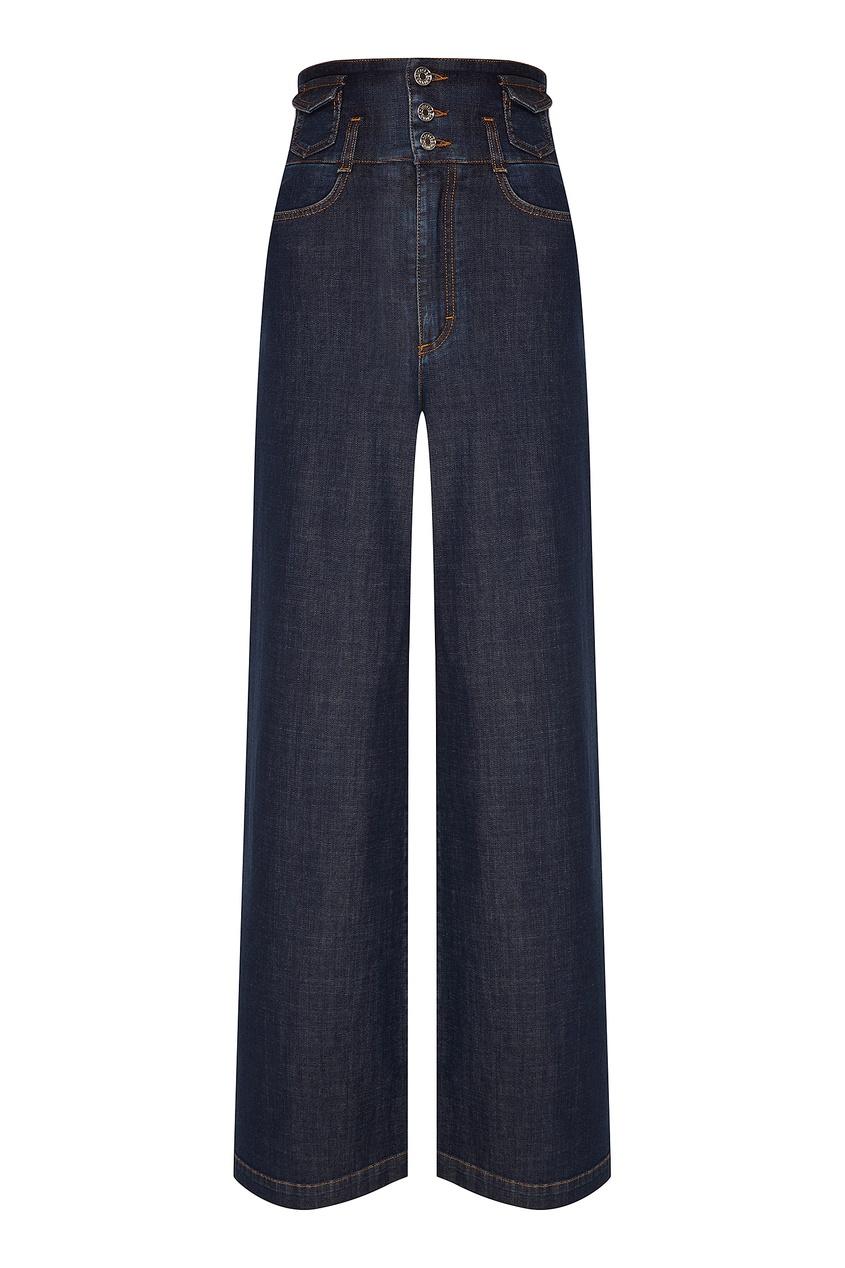 Широкие джинсы с карманами Dolce&Gabbana