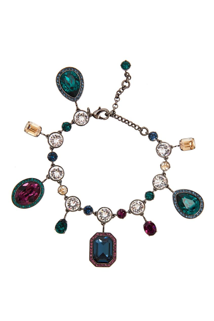 Браслет с цветными кристаллами Atelier Swarovski x Tabitha Simmons