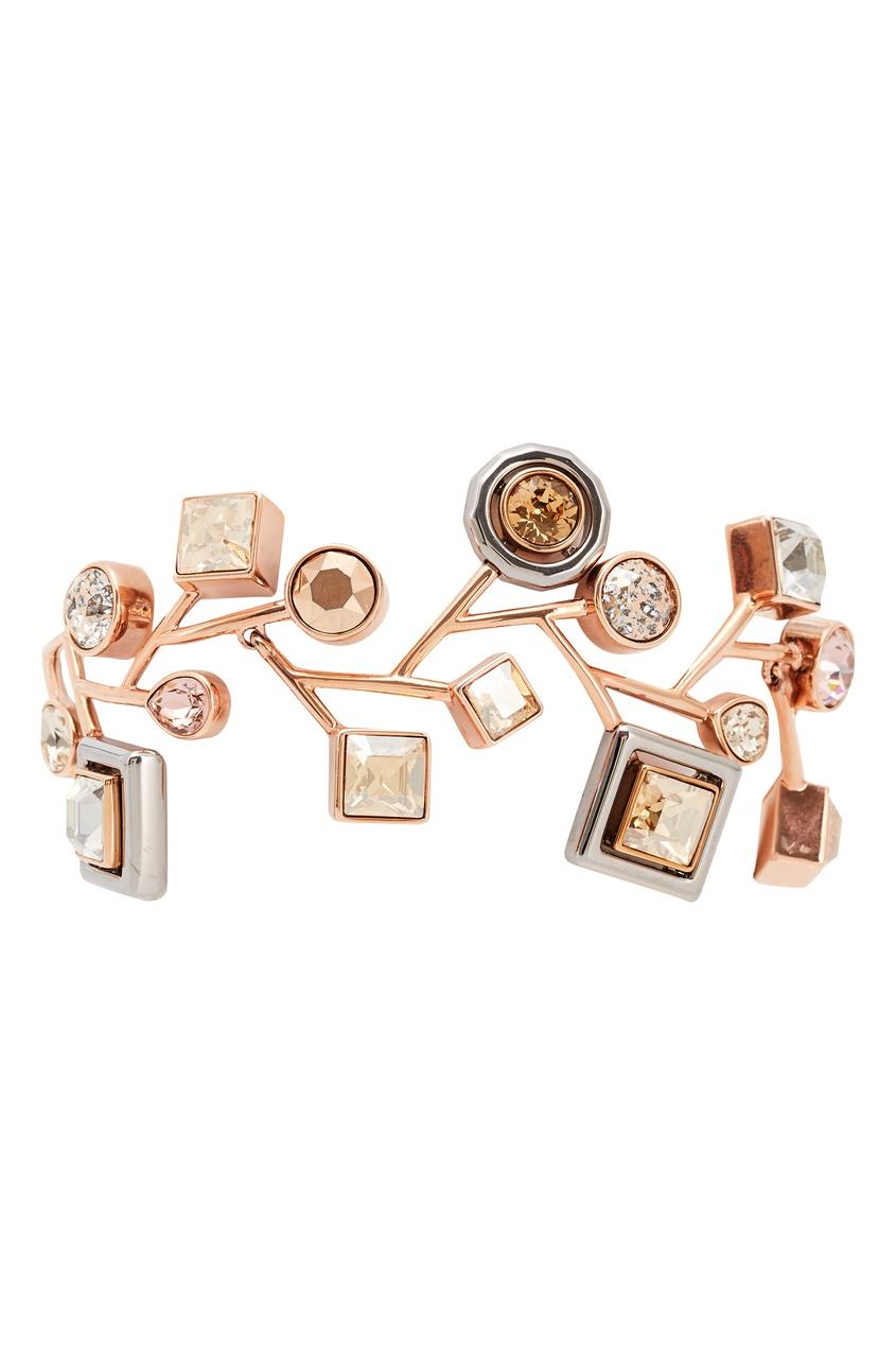 Браслет с покрытием из розового золота Atelier Swarovski x Peter Pilotto