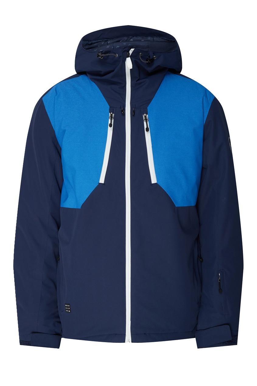 Купить Синяя сноубордическая куртка Mission Plus от Quiksilver синего цвета