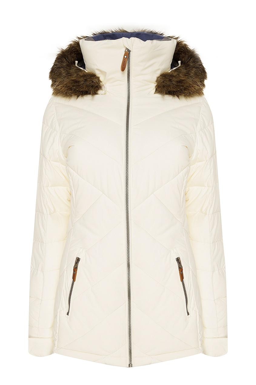 Белая горнолыжная куртка Quinn ROXY