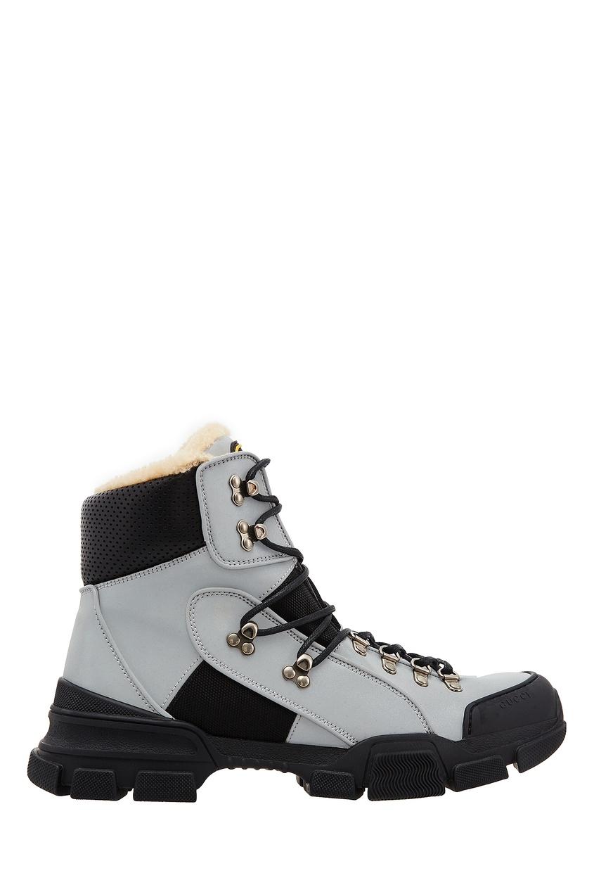 Утепленные кроссовки Flashtrek от Gucci