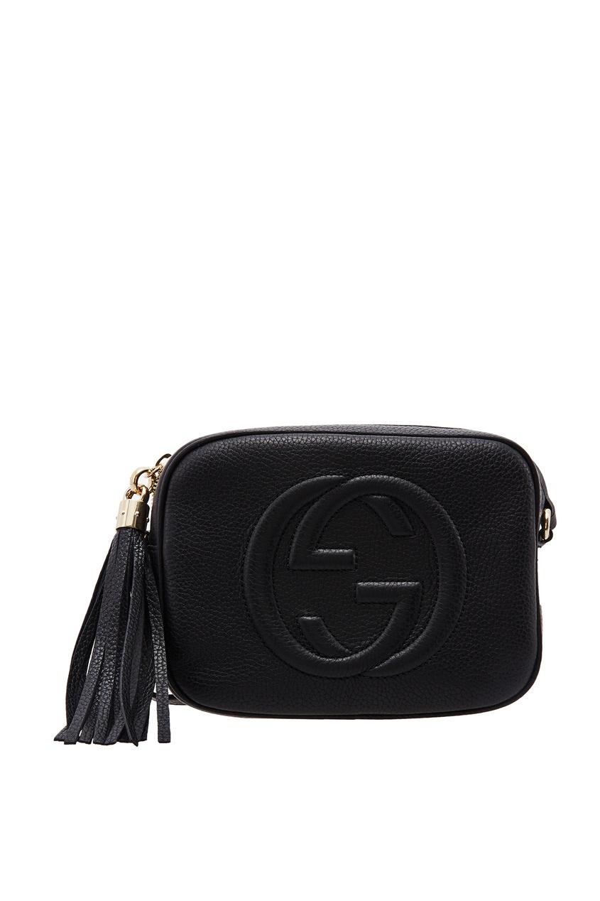 Черная сумка Soho Gucci