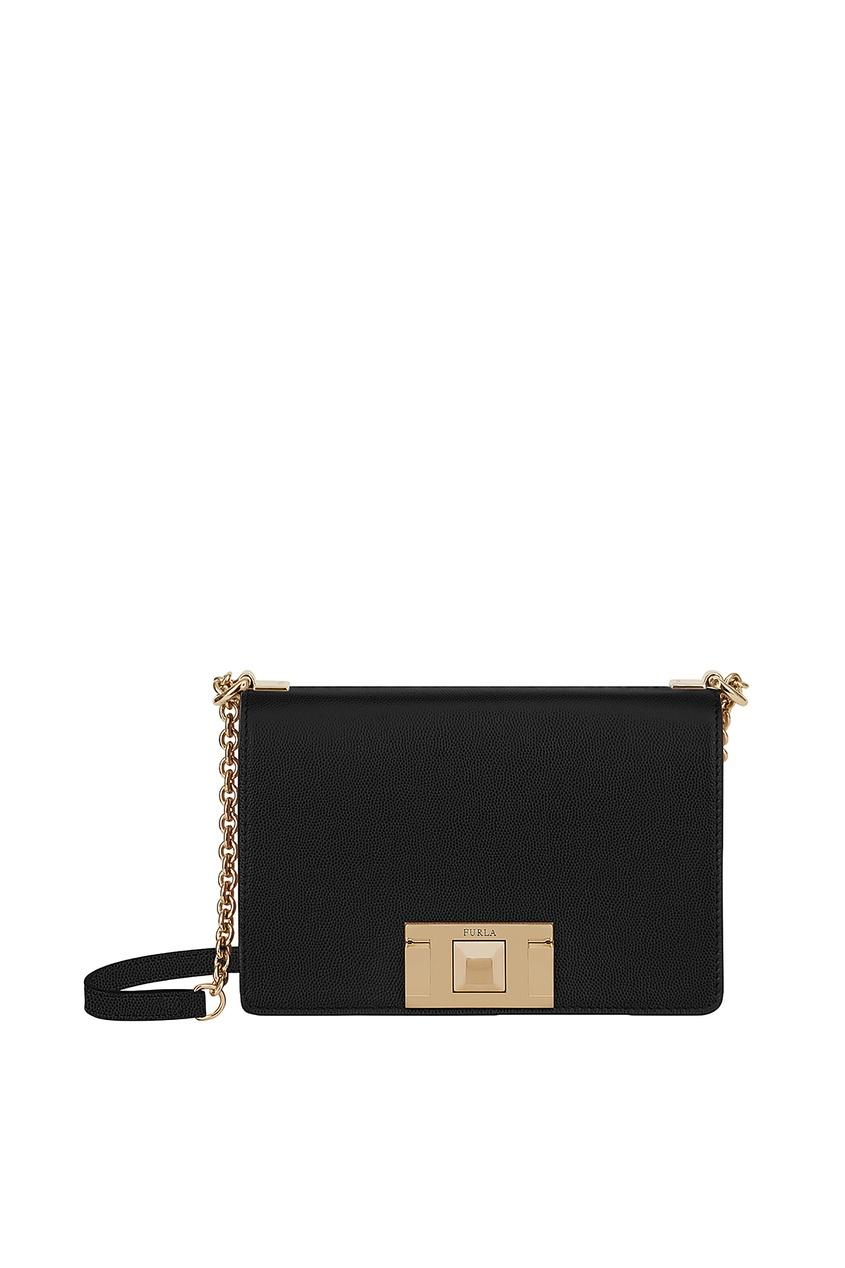 Черная сумка кросс-боди Mimì Furla