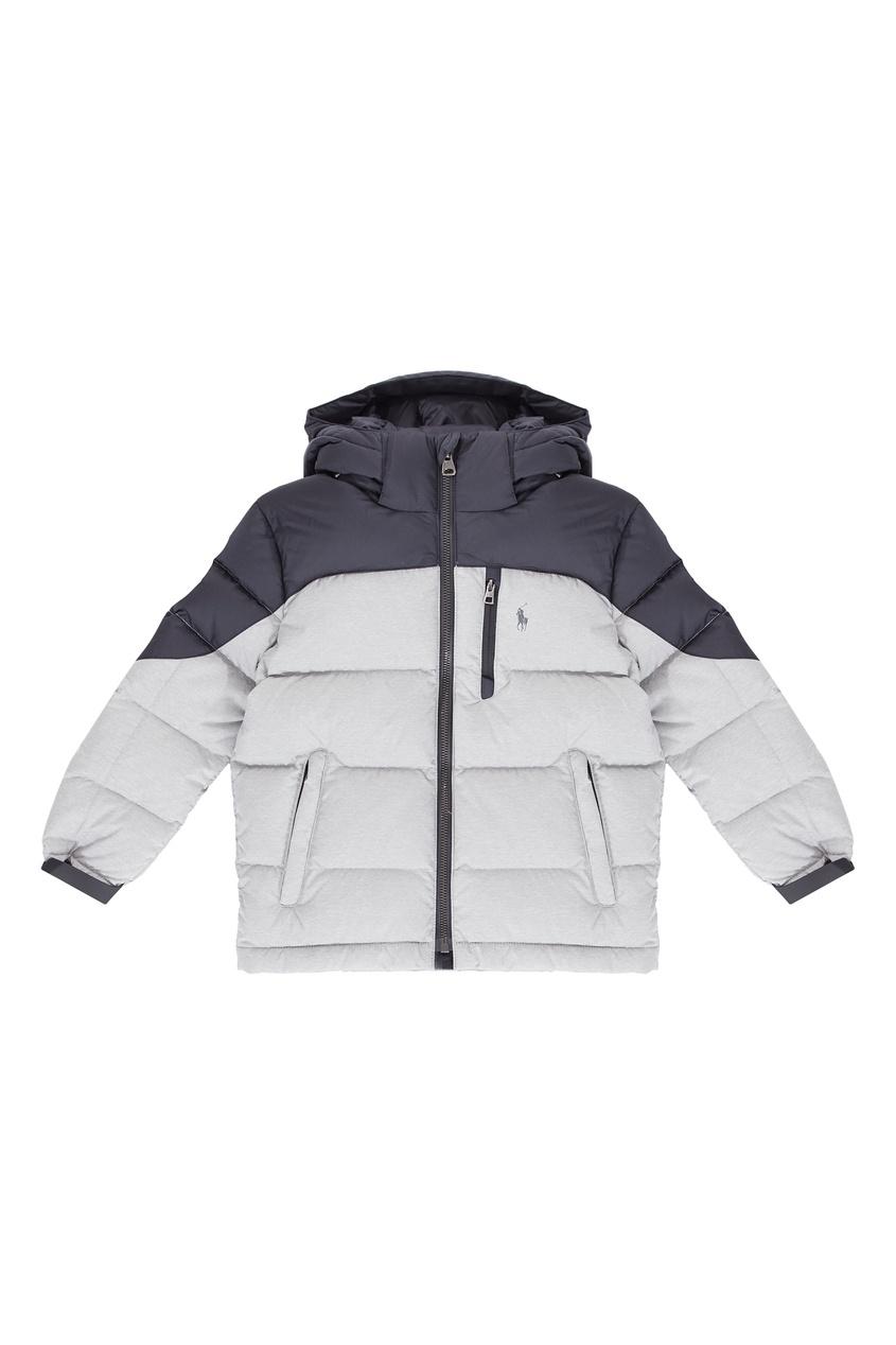 Контрастная куртка Ralph Lauren Kids