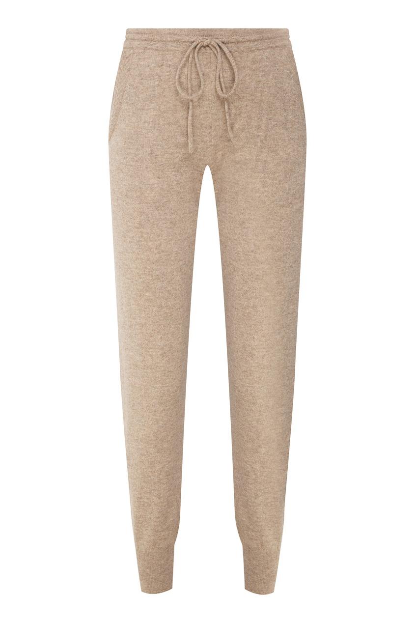 Бежевые кашемировые брюки Addicted 1733104631 серый фото
