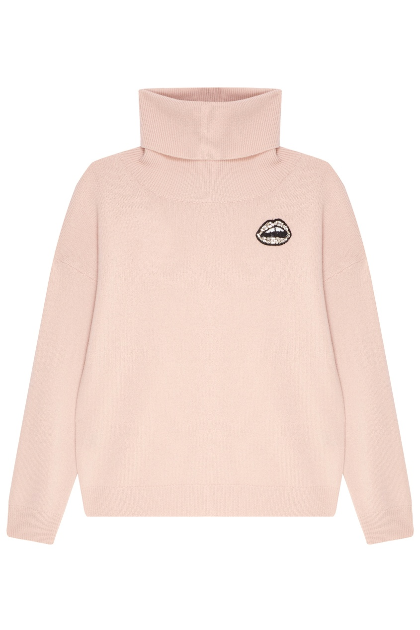 женский свитер markus lupfer, розовый