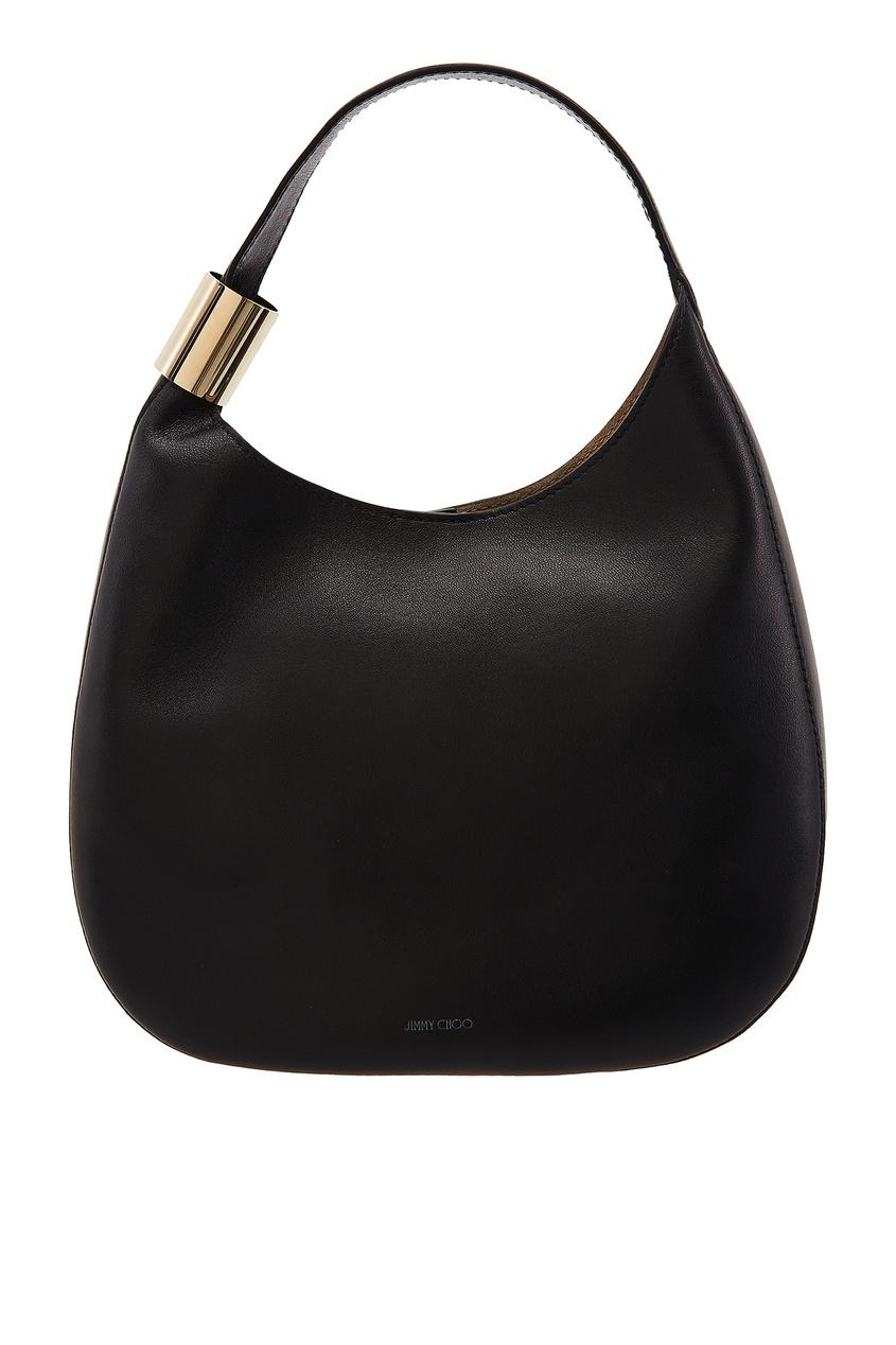 Черная сумка-мешок Stevie Jimmy Choo