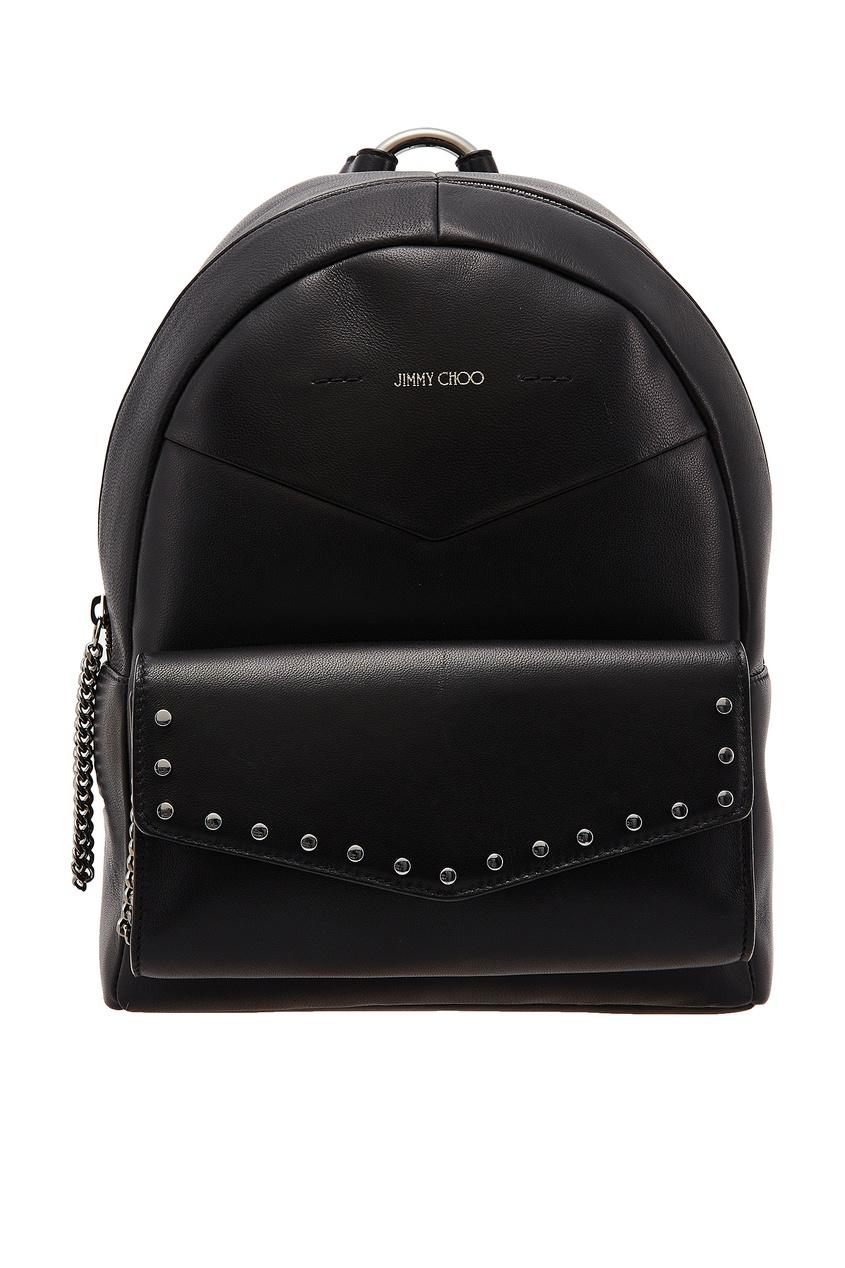 женский рюкзак jimmy choo, черный