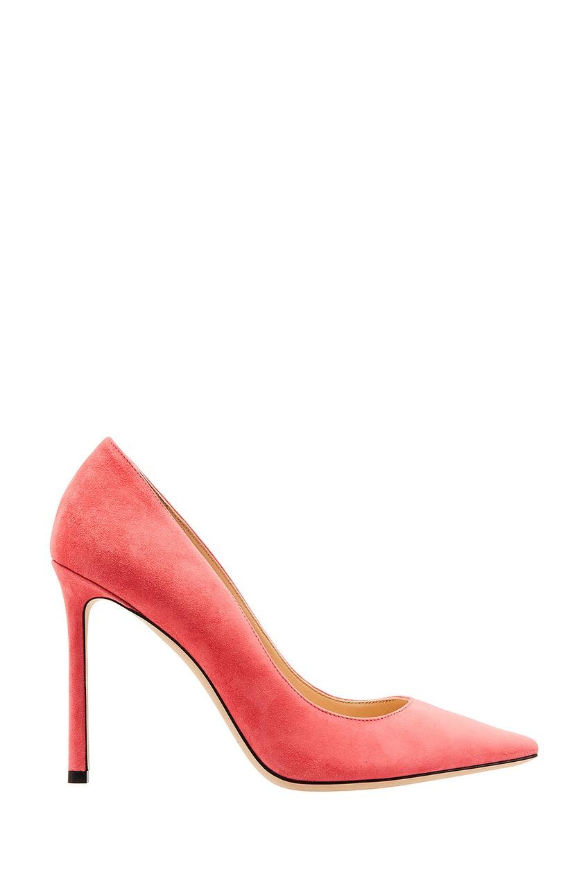 Розовые туфли Romy 100 Jimmy Choo