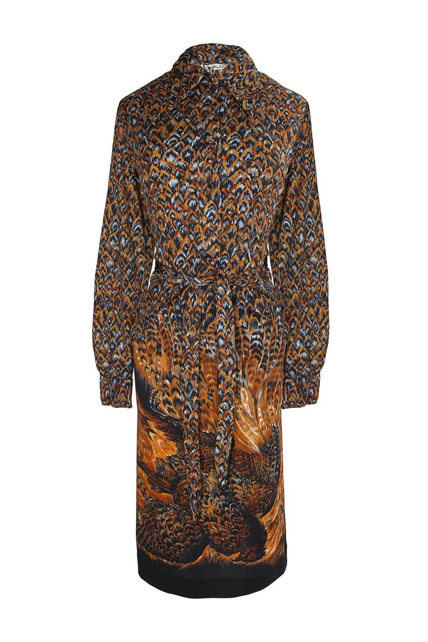 Платье из вискозы (70-е гг.)