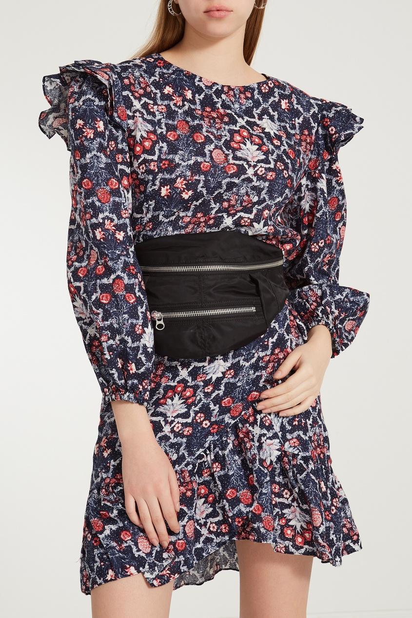 женская сумка isabel marant, черная
