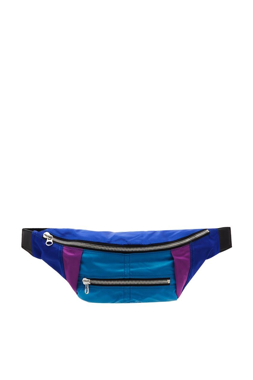 женская сумка isabel marant, синяя