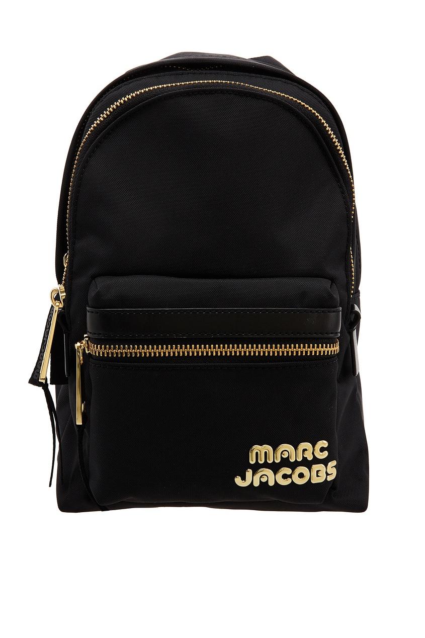 Текстильный черный рюкзак (Marc Jacobs) Айгунь поиск и продажа