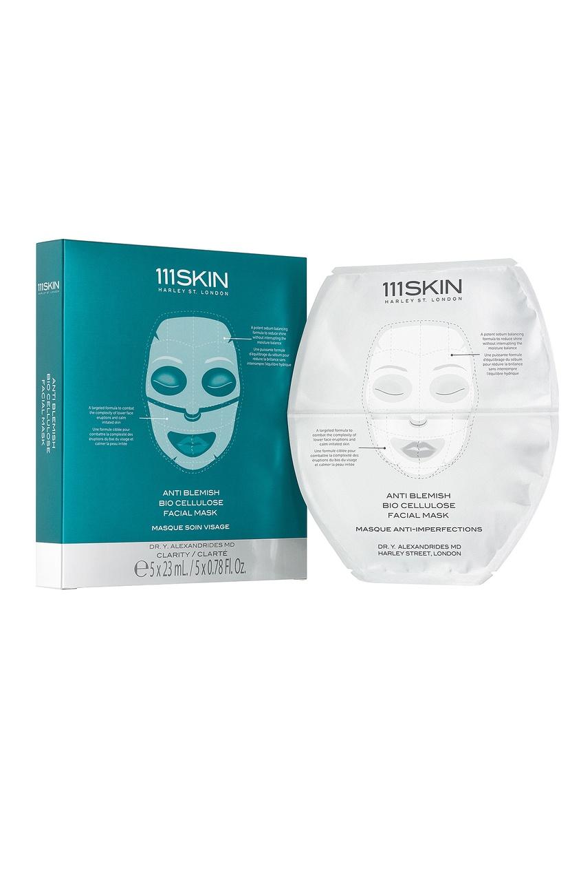 Anti Blemish Biocellulose Facial / Маска биоцеллюлозная для проблемной кожи, 5шт 111 Skin
