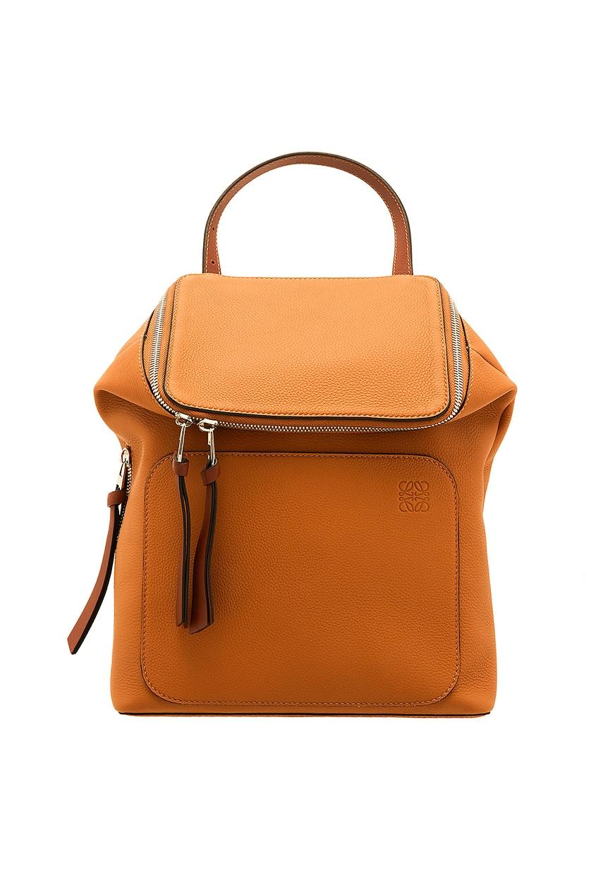 Маленький кожаный рюкзак Goya