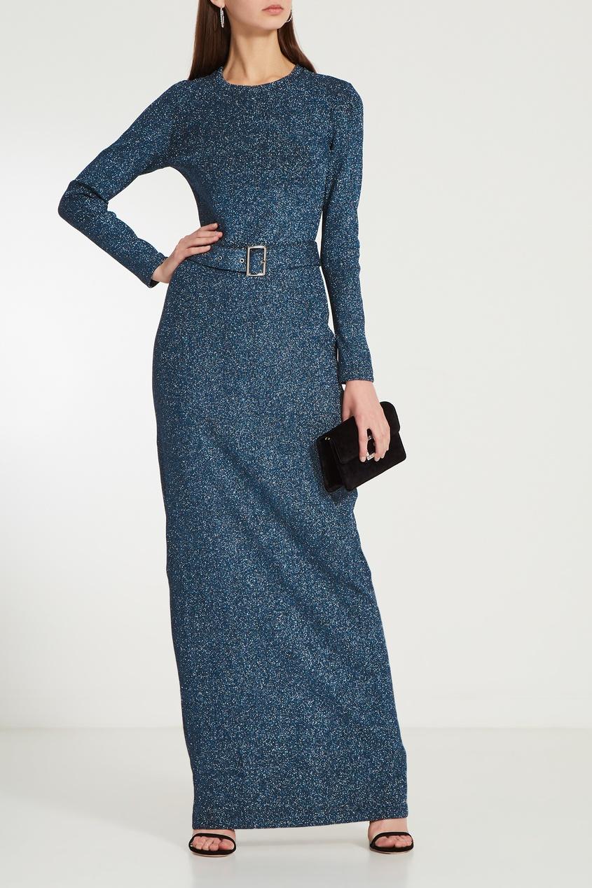 женское платье laroom, синее