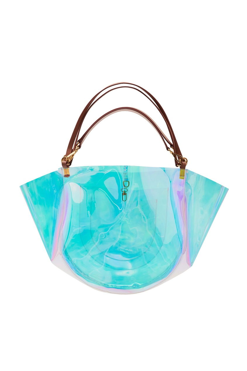 Пластиковая сумка-тоут Mia Wandler