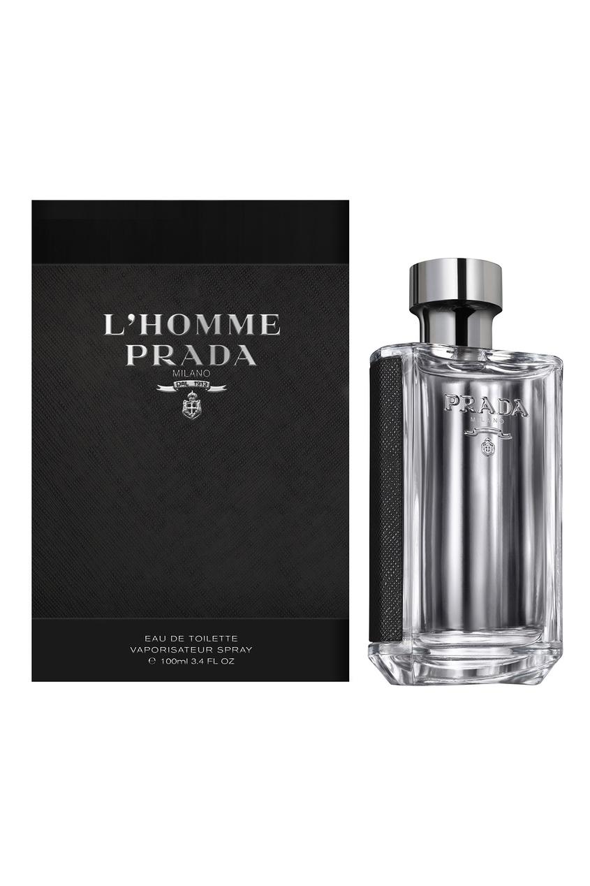 Туалетная вода Prada L`Homme, 100 ml Prada Fragrances