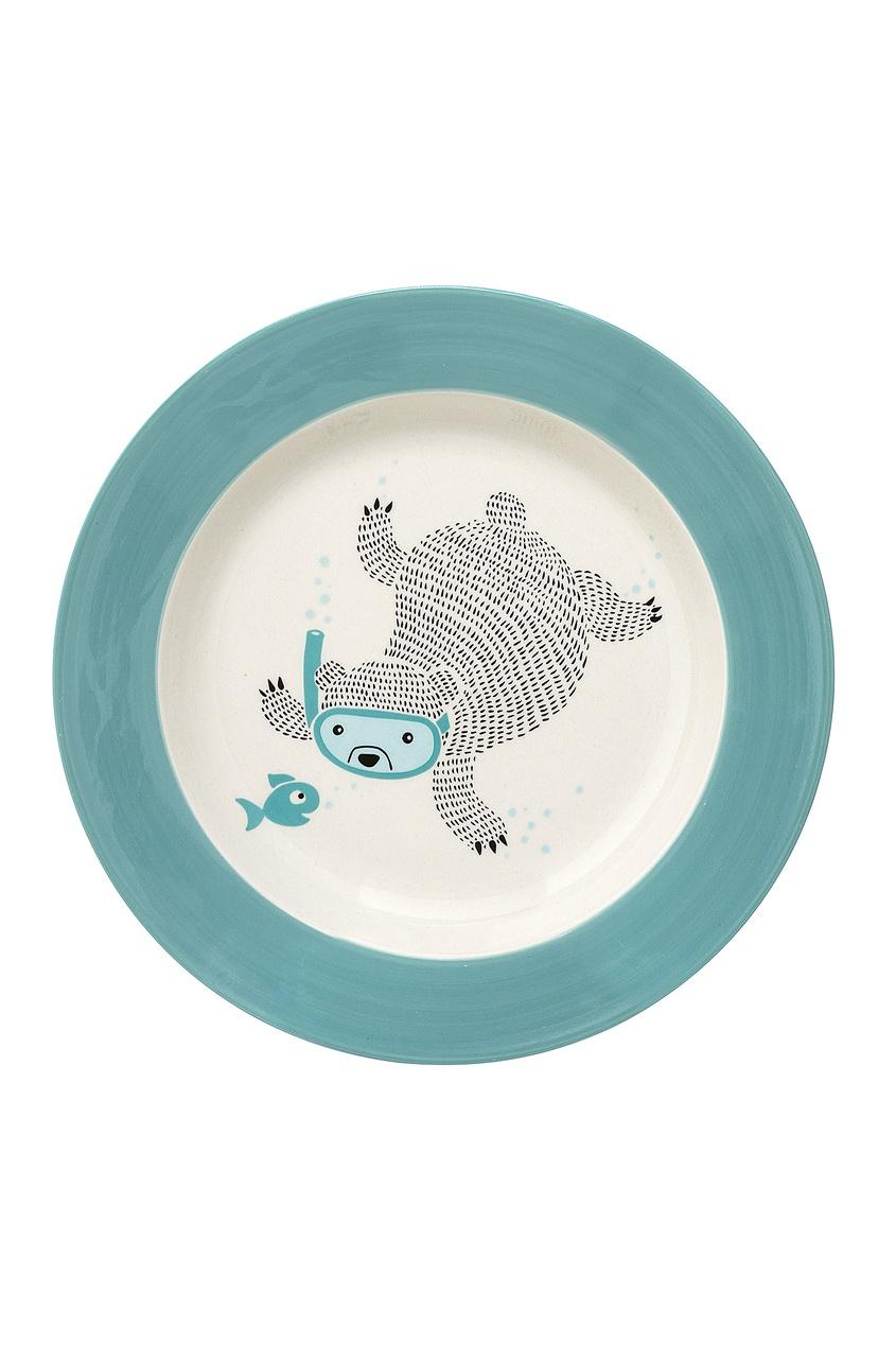 Тарелка для супа Benjamin, Зеленый