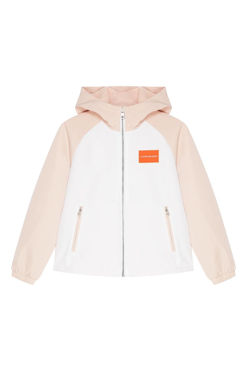 Двухцветная куртка Calvin Klein Kids