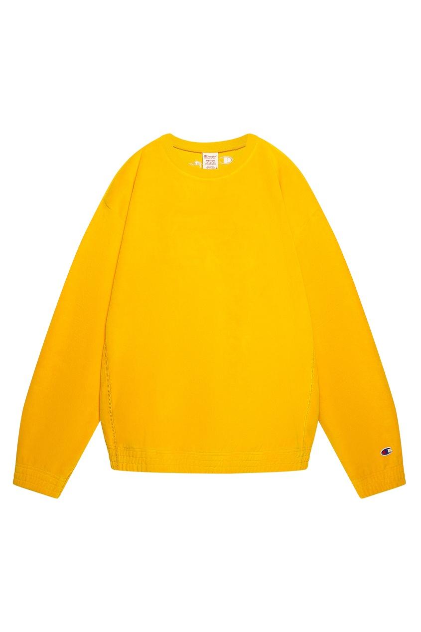 Желтый свитшот CHAMPION