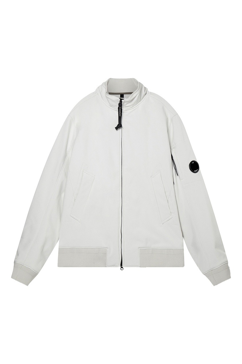 мужская куртка c.p. company, белая
