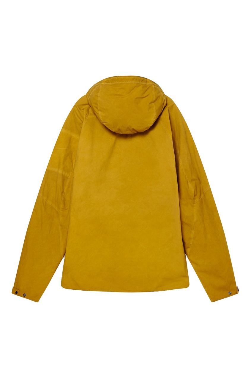 мужская куртка c.p. company, желтая