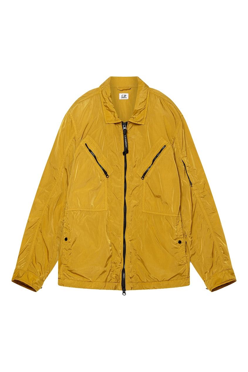 мужская рубашка c.p. company, желтая