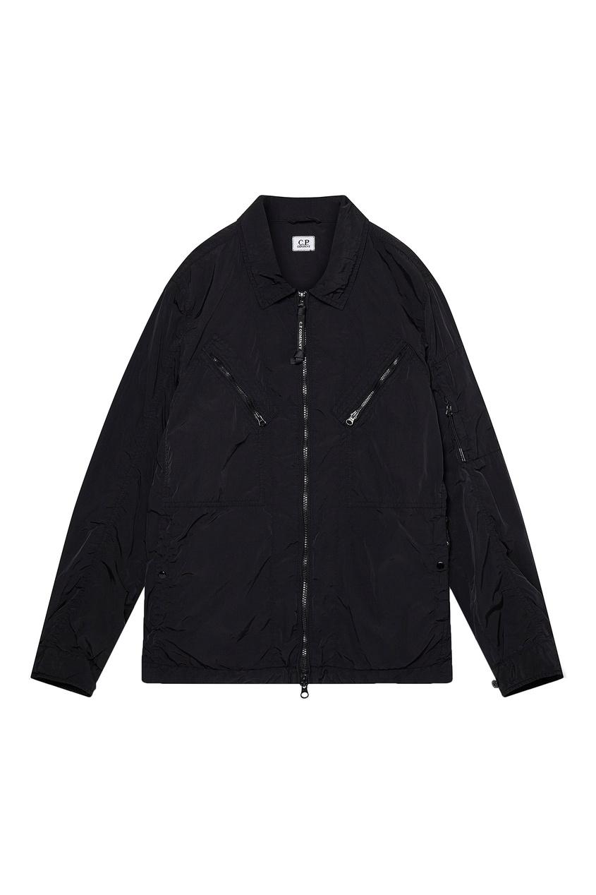 мужская рубашка c.p. company, черная
