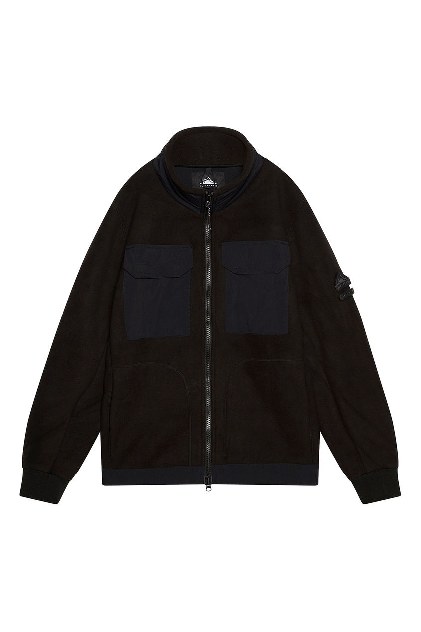 Черная толстовка с карманами от Penfield